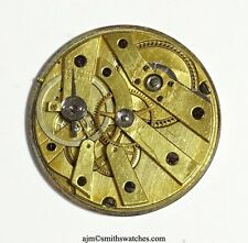 SWISS POCKET WATCH HIGH QUALITY MOVEMENT WITH CYLINDER ESCAPEMENT K14