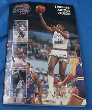 1985 - 1986 Los Angeles Clippers Media Guide NBA National Basketball Association