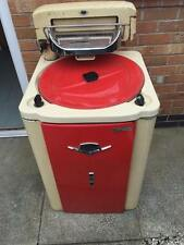 Vintage Servis Superheat Washing Machine MK16 Red & Cream - For restoration