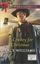 A COWBOY FOR CHRISTMAS, Wyoming Legacy, Book 2 of 4, Lacy Williams (2014, PB)