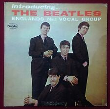 Introducing The Beatles RARE Version 1 MONO Vinyl LP Album VJLP 1062 US VEE-JAY