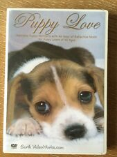 PUPPY LOVE DVD puppy portraits with reflective music Earth Video Works