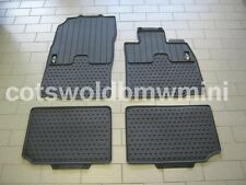 Genuine BMW MINI R60/R61 Countryman/Paceman Tailored Rubber Car Mats