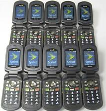 Lot of 5 Kyocera DuraXT E4277 Cell Phones SPRINT Good ESN Wholesale Available