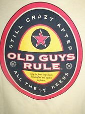 Old Guys Rule NWT Tee Shirt Men's Size Medium