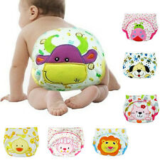 Training Pants  Potty Baby Cloth Diaper Boy Kids Nappy Cotton Underwear Nappy