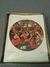 Vintage Christmas Cards Alfred Mainzer The Adoration of the Magi 25 NIB
