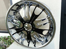 24 X 9.0 Inch 4 new Wheels Rims Dvinci Vento chrome finish Fit 5X127, 5X5