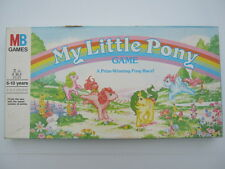 MY LITTLE PONY GAME A Prize Winning Pony Race! - Vintage Board Game (1986)