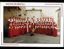 MONCRABEAU (47) ACADEMIE des MENTEURS avec CHEVRE / CONFRERIE ,Place de la HALLE