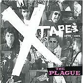 The Plague - The X Tapes (CD 2005) New! Rare '77 Punk Rock Demos & Singles Album