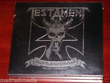 Testament: The Formation Of Damnation Deluxe Tour Edition 2 CD ECD Set 2010 NEW