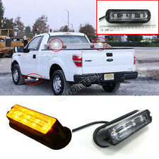 4 LED Car Truck Emergency Beacon Light Bar Hazard Strobe Warning Amber 12V / 24V
