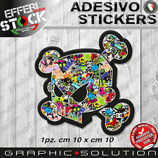 Adesivo Sticker BOMB BLOCK KEN TESCHIO SKULL SEXY DC HOONIGAN TOP QUALITY !!