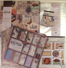 Papermania Madame payraud 12x12 album, stickers, papers, pockets & 35 protectors