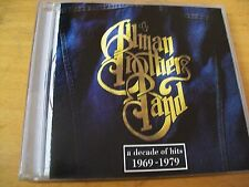 ALLMAN BROTHERS BAND A DECADE OF HITS 1969-1979 CD USA 1991 AAD