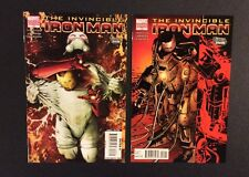 INVINCIBLE IRON MAN #23 #24 Comic Books VARIANTS Marvel Stark Disassembled VF+