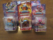 Skylanders SuperChargers LOT 3 SPLAT,LAVA LANCE ERUPTOR,BIG BUBBLE POP FIZZ SET