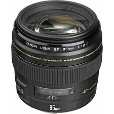 Canon EF 85mm f/1.8 USM Lens for Digital SLR DSLR Camera Bodies - NEW
