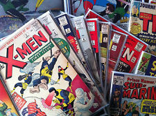 Uncanny Comic Grab Bag lot, X-men, Captain America, Wolverine, Batman, Hulk 181
