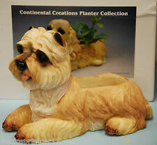 Cairn Terrier Poly-stone Patio Planter