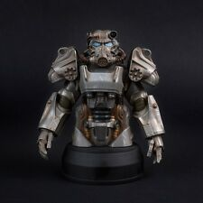 """FALLOUT 4 T-60 POWER ARMOR BUST 6.5"""" POLY RESIN STATUE FIGURE NEW AND SEALED"""