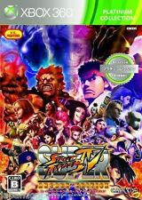 Used Xbox 360 Super Street Fighter 4 MICROSOFT JAPAN JP JAPANESE JAPONAIS IMPORT