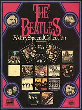 BEATLES 1970 APPLE PROMO POSTER, 'A VERY SPECIAL COLLECTION' REPRO, STUNNING!