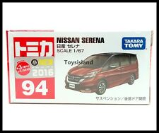 TOMICA #94 NISSAN SERENA 1/67 TOMY 2016 AUGUST MODEL DIECAST CAR