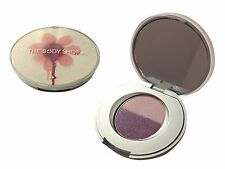 The Body Shop Flower Hot Bright Eye Color Shadow Pink Violet Powder Beauty Gift