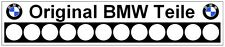 ORIGINAL BMW TEILE Rear Window Decal E9 E12 E21 E24 E28 E32 Repro, Dealer Style