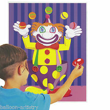 Childrens Party Stick On Nose CLOWN GIOCO