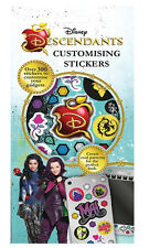 Disney's Descendants Set of 300+ Customising Stickers 6 Sheets Xmas Gift Bag