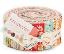 Farm House  Jelly Roll Quilting Patchwork Fabric