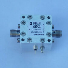 Amplifier LNA Module 0.7GHz to 6.0GHz with Ultra Low Noise Figure 0.4dB