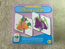 """My First Match It game """"things I eat"""" baby puzzle"""