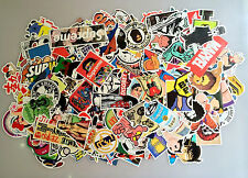 200 Sheets Random Stickers Skateboard Sticker Graffiti Laptop Luggage Car Decals