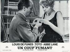 LOUIS DE FUNES TOTO, EVA E IL PENNELLO PROIBITO 1959 VINTAGE LOBBY CARD #1  R70