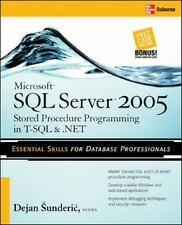 Microsoft SQL Server 2005 Stored Procedure Programming in T-SQL and .NET by...