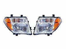 New Headlights PAIR w/Bulb FOR 2005 2006 2007 2008 Nissan Frontier Pathfinder