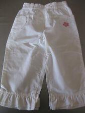 Hose Jeans Weiß Gr. 86 N-Joy, Gummizugbund, Volant, Schlupfhose, sehr schön,top