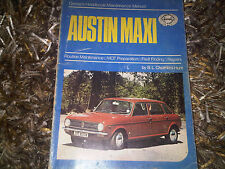Austin Maxi Drivers Owners Handbook Maintenance Guide Manual by Haynes
