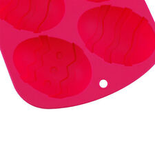 Silicone Easter Egg Mould Baking Cake Crafts Chocolate Fondant Decorating Pink