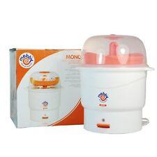 Mebby Mono Sterilizzatore elettrico a vapore + vaschetta contenitrice 6 biberon