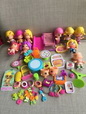 "Famosa Pinypon 2"" Figures Figurine Cake Topper Lot Toys Shopping Center Set"