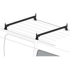 2 Bar Black Aluminum Ladder Roof Rack System AMZ-145 Fits: Transit Connect