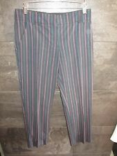 Etro striped cotton  pants size 40 made in Italy