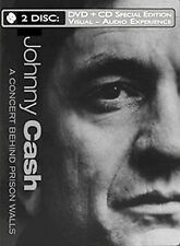 Johnny Cash - A Concert Behind Prison Walls (with Audio CD), Good DVD, Foster Br