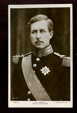 Royalty King Albert I of Belgium vintage Rotary RP PPC