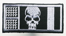 """ROGUE TROOPER """"HELM"""" BIOCHIP' #1 - Embroidered Iron-On Patch - 2000AD - NEW"""